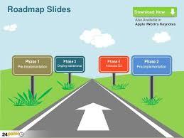 free roadmap template product roadmap powerpoint template