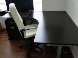black l shaped desks home office