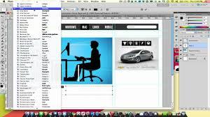 basics of photoshop 04 designing a website youtube