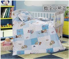 Mickey Mouse Baby Bedding Aliexpress Com Buy Promotion 3pcs Cartoon Crib Baby Bedding Set
