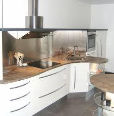 cuisine blanc et bois cuisine blanche et bois pas cher sur cuisine lareduc com