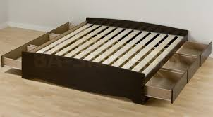 Twin Platform Bed With Storage Bed Frames Twin Platform Bed Storage King Size Bed Frame With