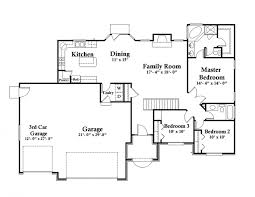 garage floorplans home architecture craftsman house plans rv garage w living