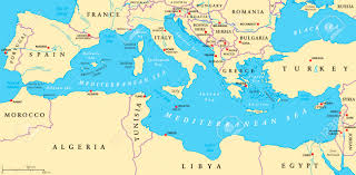 mediterranean map mediterranean sea map images stock pictures royalty free new world