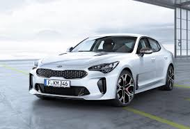 kia vehicle lineup standard features for kia stinger v6 lineup confirmed