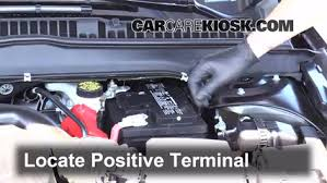 ford fusion battery how to jumpstart a 2013 2016 ford fusion 2013 ford fusion se 2 0