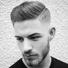 hair cut for men shaved on sides slicked back on top medium slicked pomp high fade hairstyle curly boys hairstyles