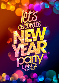 new year backdrop new year party design with multicolored bokeh lights backdrop