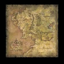 a map of middle earth weta workshop