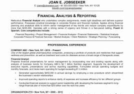 financial analyst resume 56 best of photos of financial analyst resume format resume