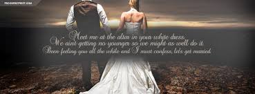 getting married quotes lets get married quote cover