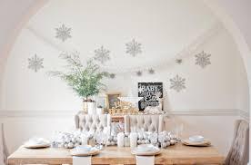 dining room tour winter wonderland glitter inc glitter inc