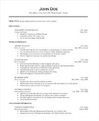 merchandising and pricing associate sample resume unforgettable