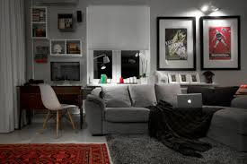 compact bachelor pad captures all the right details in an eclectic home decorating trends homedit