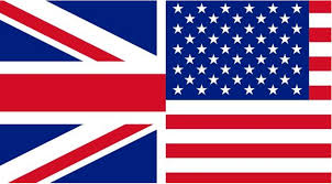 The England Flag British English Versus American English Is One Better Than The