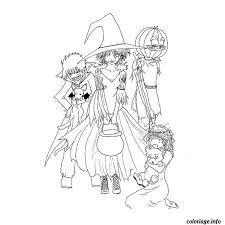 Coloriage halloween pour grand  JeColoriecom