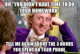 Homework Meme - 17 homework memes that tell it like it is weareteachers