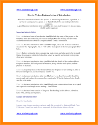 10 write introduction letter agenda example