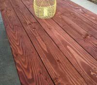 Cedar Patio Furniture Plans Rot Resistant Wood Chart Step Outdoor Round Table Diy Dining Plans