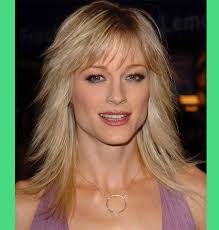 medium length wavy hairstyle shoulder length wavy hairstyles with fringe grand u2013 wodip com