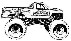 big monster trucks coloring pages gianfreda net