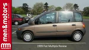 fiat multipla top gear 1999 fiat multipla review youtube