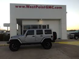 starwood motors jeep nighthawk jeep wrangler unlimited arctic in silver metallic automobiles