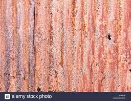 old corrugated iron fence for background stock photo royalty free