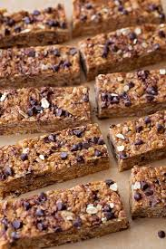 Top 10 Healthiest Granola Bars by No Bake Peanut Butter Chocolate Chip Granola Bars