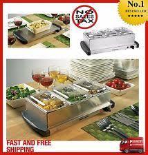 Elite Platinum Stainless Steel Buffet Server by Buffet Server Ebay