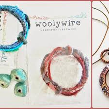 easy diy necklace tutorial with art beads u0026 woolywire