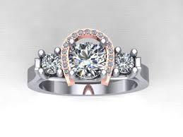 country wedding rings horseshoe wedding rings 25 best horseshoe ring ideas on