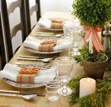 Kitchen Table Decorations 20 Diy Christmas Tablescapes That Will Knock Your Socks Off