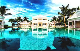 big beautiful mansions with pools