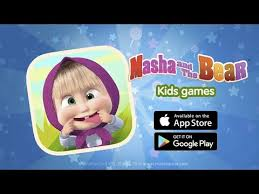 masha bear child games android apps google play