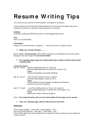 Well Written Resume Examples by Examples Of Well Written Resumes Free Resume Example And Writing