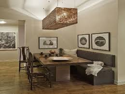 Modern Dining Bench With Back Contemporary Dining Room Sets With Benches Home Design Ideas