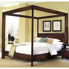 canopy king bed frame frames bedroom sets with curtains size full