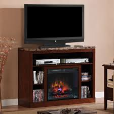 electric fireplace with tv on top fireplace design and ideas