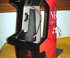 Neo Geo Arcade Cabinet Mini Neo Geo Arcade Cabinet Technabob