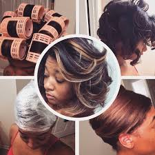 roller wrap hairstyle jaime renee s natural hair hooded dryer roller set saran wrap