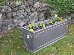 garden aluminum water trough galvanized water trough oval