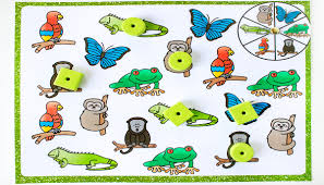 rainforest matching games for preschoolers life over cs