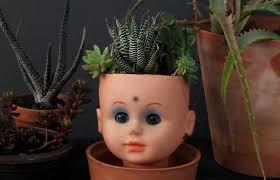 Face Planter Frankie Exclusive Diy Doll U0027s Head Planter Frankie Magazine