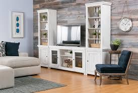 sinclair white 3 piece entertainment living spaces