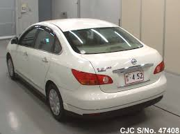 nissan bluebird 2005 2011 nissan bluebird sylphy pearl for sale stock no 47408