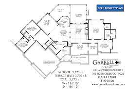 cottage house floor plans tiger creek cottage house plan house plans by garrell associates