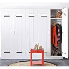 connect contemporary 3 door locker cabinet with storage interior room