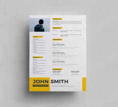 free psd resume template 000287 template catalog