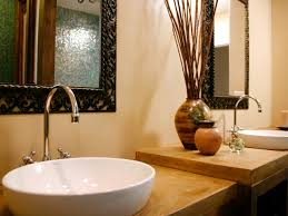 vessel sink bathroom ideas vessel sink bathroom faucets hgtv